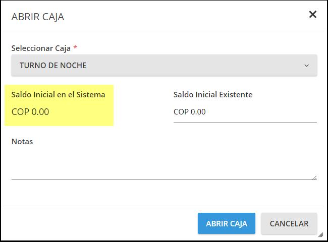 DEMO - El Bolsón - Crear / Cambiar Caja - Google Chrome
