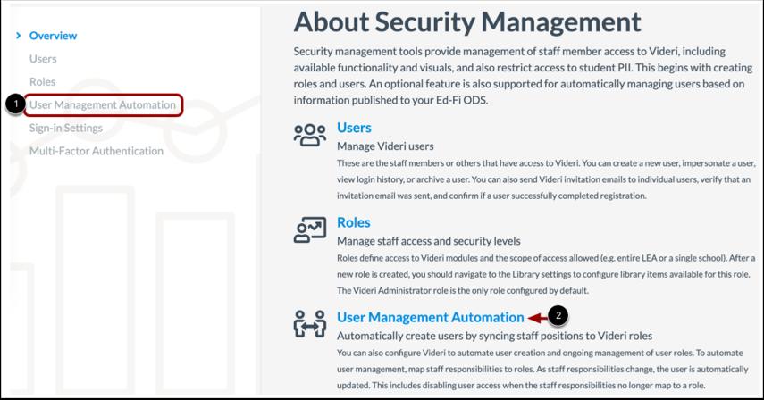 Open User Management Automation