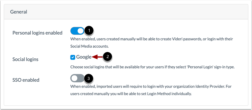 View Sign-in Settings
