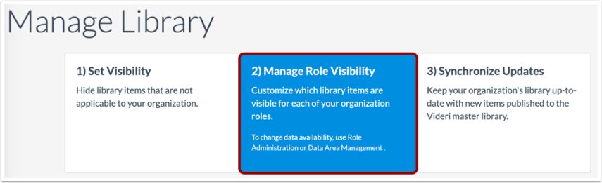 Set Library Visibility by Role