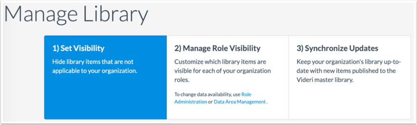 Set Account LIbrary Visibility