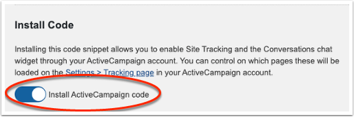 ActiveCampaign Settings ‹ Unexpected Armadillo — WordPress