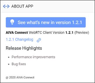 AIVA Connect Client - Google Chrome