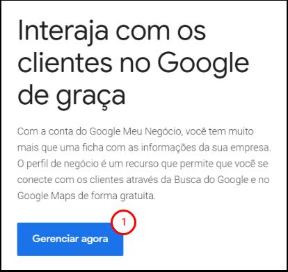 Google Meu Negócio: gere interações dos clientes no Google - Google Chrome