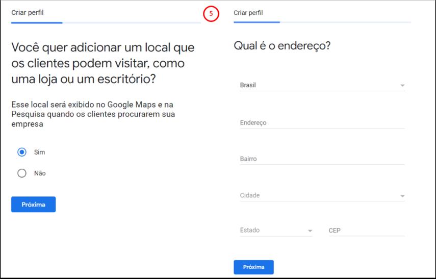 Traga sua empresa para o Google - Google Chrome