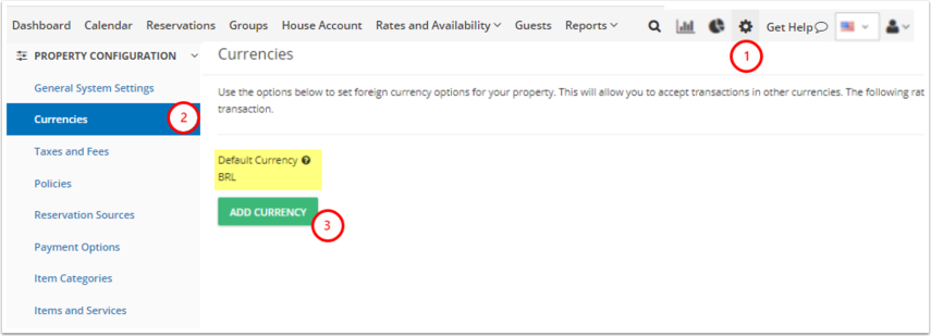 Born to be Wild Hostel - DEMO - Manage - Currencies - Google Chrome