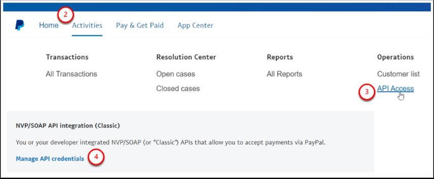 API Access - PayPal - Google Chrome