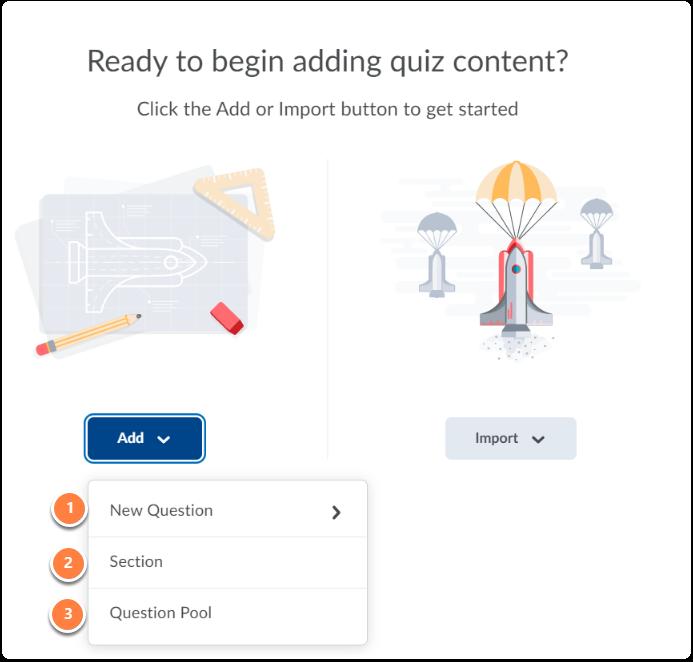 Add quiz content