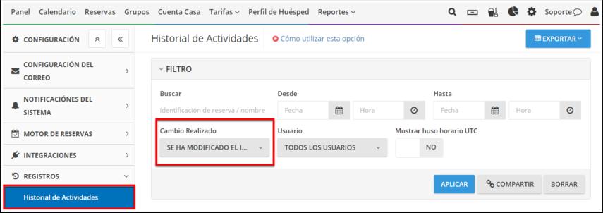 DEMO - El Bolsón - Historial de Actividades - Google Chrome