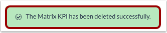 View Delete Notification