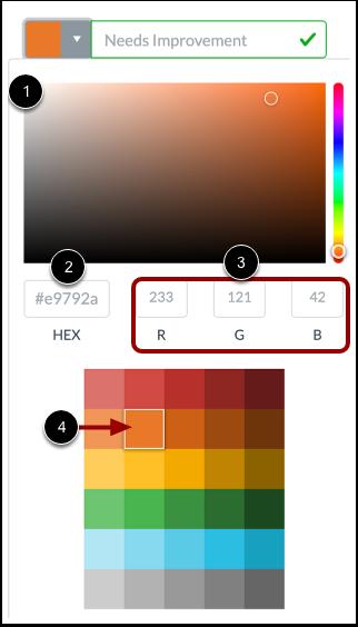 Select Label Color