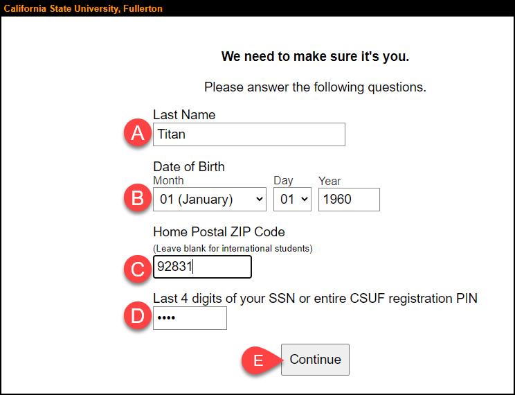 verification questions