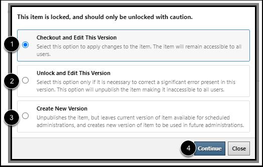 Select Edit Optoin