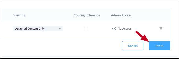 Invite User | ScreenSteps