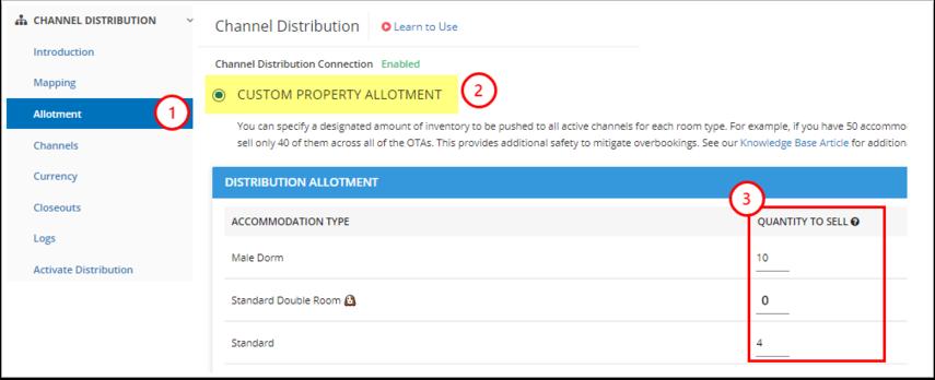 DEMO - Karina's Hostel - Manage - Channel Distribution - Allotment - Google Chrome