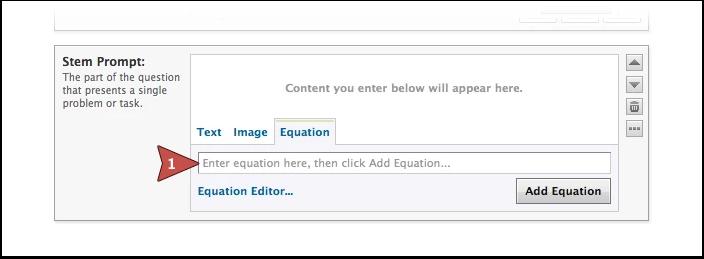 Add Equation Manually