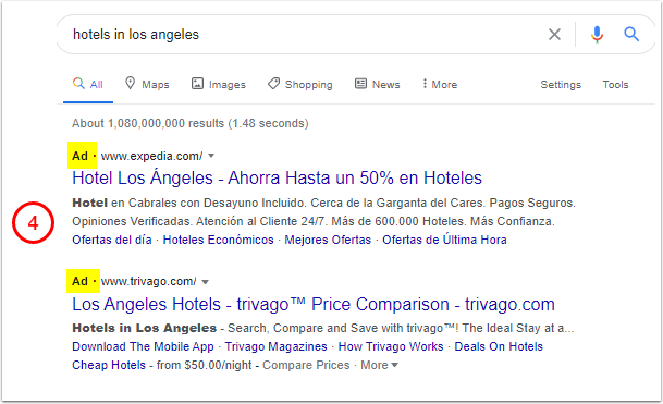 hotels in los angeles - Google Search - Google Chrome