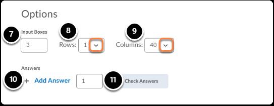 Multi-Short Answer Question