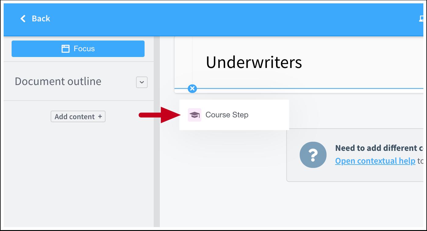 Underwriters | Article Editor | ScreenSteps