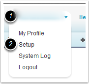 Navigate the system to enable Mobile access