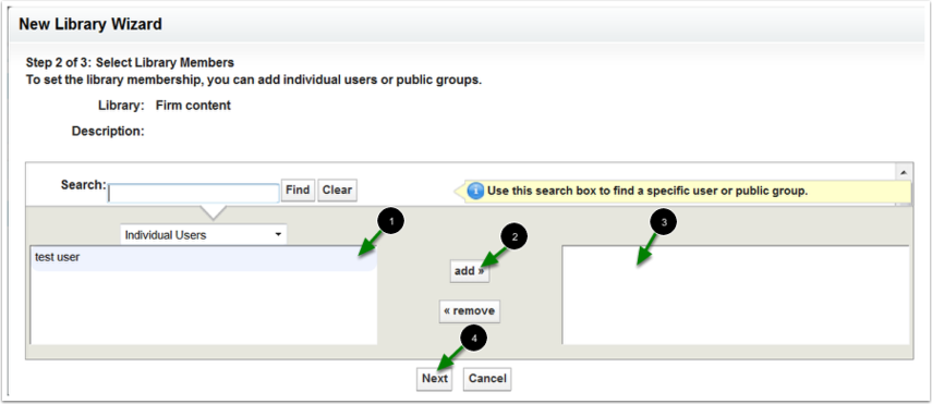 Step 2: Adding Library Members