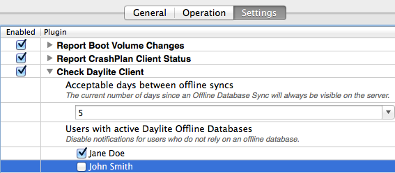 Preference Pane - Check Daylite Client settings