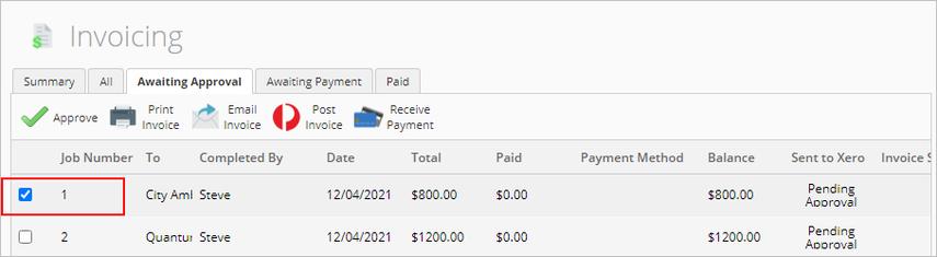 ServiceM8 - Invoicing - Google Chrome