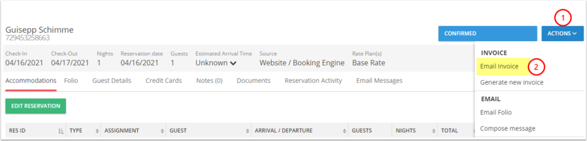 payment online - Reservations - Google Chrome