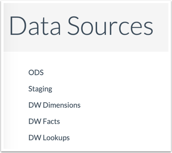 View Data Sources