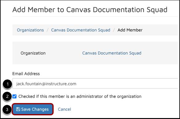 Enter Member Details
