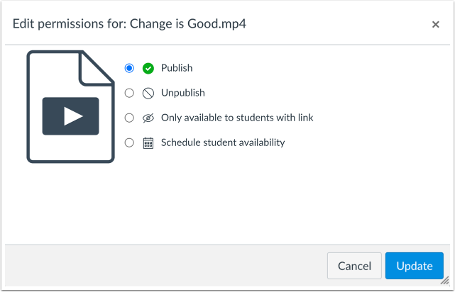 Verify File Restriction Settings with Instructor