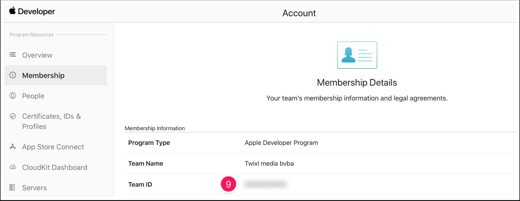 Account - Apple Developer