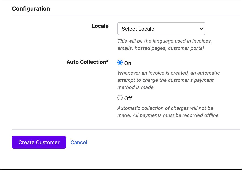 Customers - Chargebee