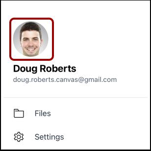 Tap Profile Picture