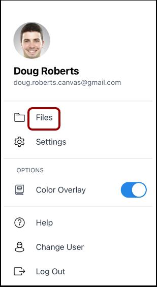 Open User Files