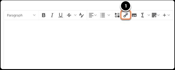 Editor Tool Bar | Quicklink Icon