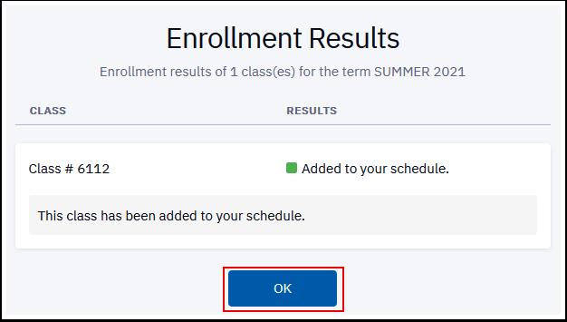 enrollment results