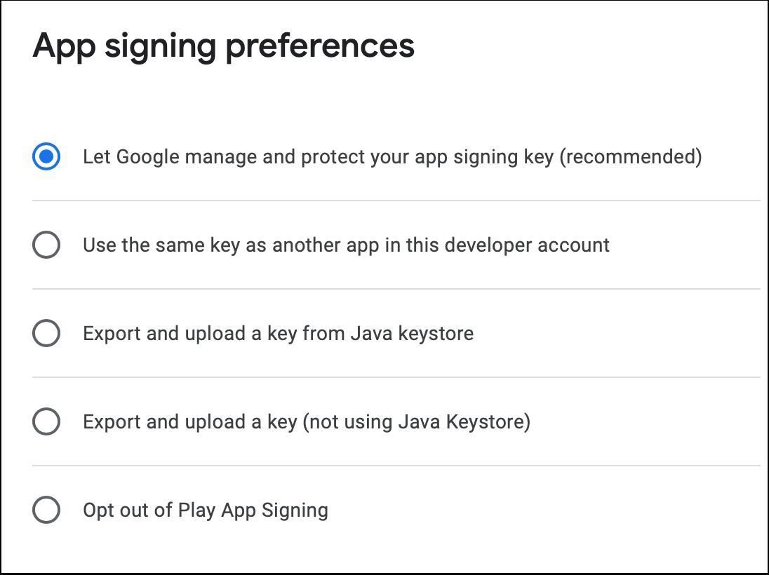 Prepare release | Twixl App Signing