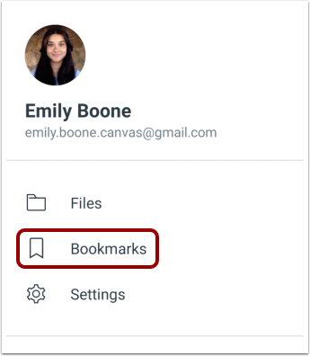Open Bookmarks