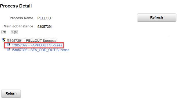 FAPPLOUT Success process detail