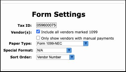Print 1099-NEC