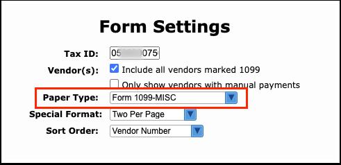 Print 1099-MISC