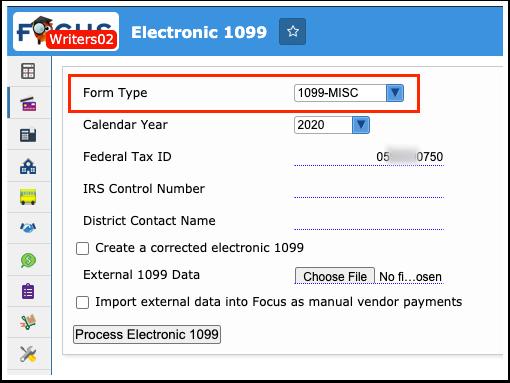 Electronic 1099