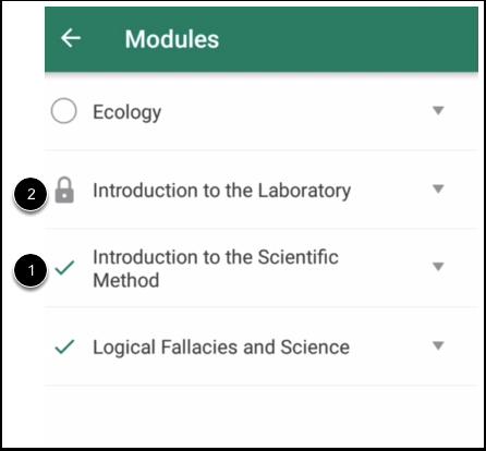 View Module Status