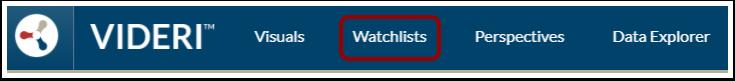 Open Watchlists