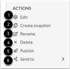 View Actions