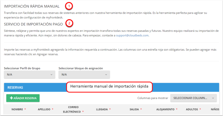 DEMO - El Bolsón - Importar reservas - Google Chrome