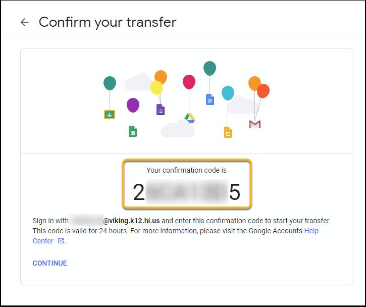 Confirm your transfer - Google Chrome