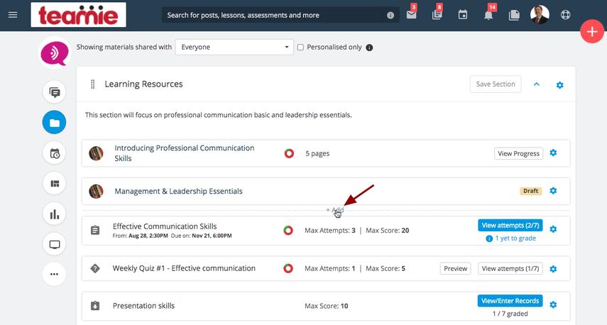 (14) Materials   Professional Communication Skills   Teamie Next