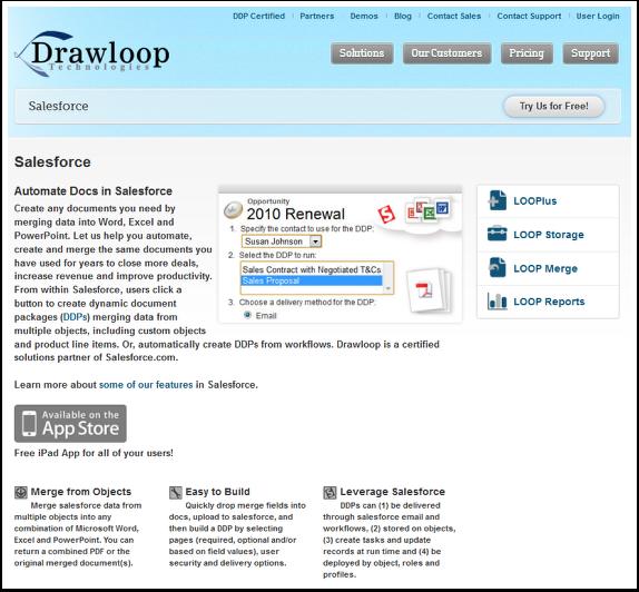DrawLoop for Salesforce Information